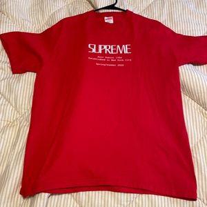 Supreme SS20 tee